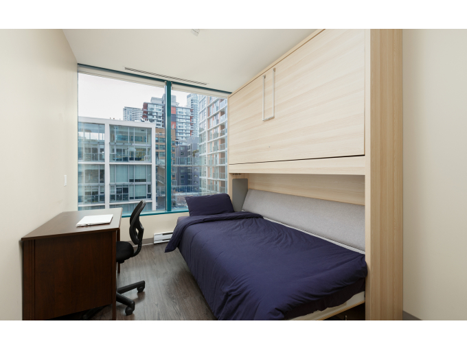 Furnished Private Bedroom in Downtown Vancouver